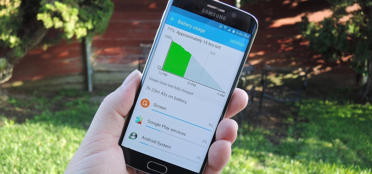 See what's draining your battery the most
